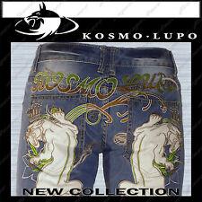 KOSMO LUPO Mens Italian Designer Jeans K&M Size 32 Blue Wash Denim AUSTRALIAN