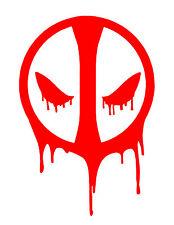 "Deadpool Marvel Comic Ryan reynolds Vinyl Sticker Decal Car Window Laptop 5"""