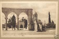 LEHNERT & LANDROCK N°624 JERUSALEM MOSQUEE EL'AKSA