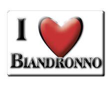 CALAMITA LOMBARDIA FRIDGE MAGNET MAGNETE SOUVENIR LOVE BIANDRONNO (VA)