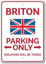 Briton Parking Sign, Briton Gift, Briton Decor, Briton Sign ENSA1002914