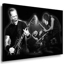 Bild Leinwand Metallica Bilder Kunstdrucke  Wandbild Leinwandbild k. Poster 313