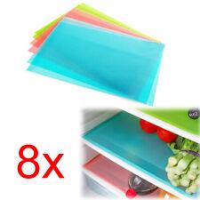 8 x Kühlschrankmatten Antischimmelmatte geruchshemmend antibakteriell Matte Neu