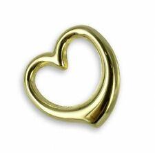 Herz Anhänger 333 Gold gestempelt 40,45,50,55 cm mit verschiedenen Goldketten