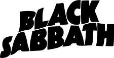 Black Sabbath Music Vinyl Decal Sticker Free Shipping