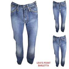 Jeans G Star Raw Core 3301 Classic Diritto Svasato azzurro Taglia W30 31 32 34
