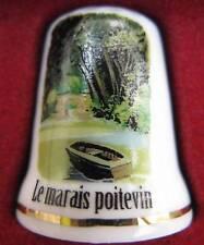 Dé à coudre Les Marais Poitevin Thimble Fingerhut #32