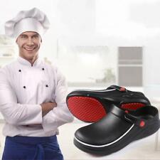 chef chaussures de sécurité homme femme cuisine antidérapantes oil & water proof