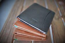 Handmade Passport Travel Wallet Organiser Blue, Green, Black, Tan