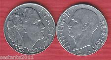 I1, ITALIA ITALY VITTORIO EMANUELE III 20 CENTESIMI IMPERO 1942, KM 75b, FDC/UNC