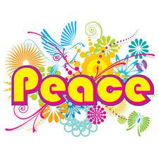 NEW Peace Flower Power T-shirt Women's S M L XL 2XL
