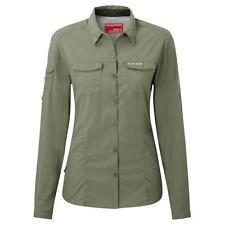 Craghoppers NosiLife Adventure Bluse Damen permanenter Insektenschutz UV UVP 80€