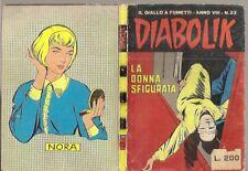DIABOLIK ORIGINALE- ANNO VIII-8°-  1969 - n° 23- RARO !