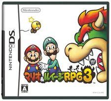 Used Nintendo DS Mario & Luigi RPG 3!! Japan Import (Free Shipping)