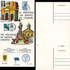 "FRAL-8 Triptyque ALLEMAGNE ""EUROPA Exposition FFA / DE GAULLE - KIESINGER"" 1968"