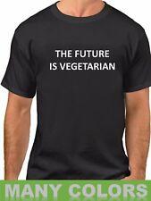 The Future Is Vegetarian T-Shirt Funny Veggie Lovers Shirt Christmas Gift Idea