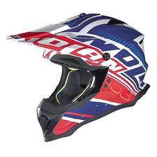 NOLAN N53 casco FLAXY Metal Blanco Azul Rojo Motocross Mx Enduro BMX Quad Barato