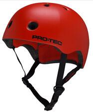 Pro Tec Skateboard Helmet STREET LITE (CERTIFIED) SATIN BLOOD ORANGE