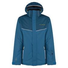 Dare 2b Giacca impermeabile da uomo marca tracce antivento sci inverno cappotto imbottito blu