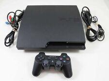 PS3 Slim System 250Gb (Model Cech-2001B Or 2101B)