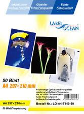 50 Blatt A4 Overheadfolien OHP Folien Inkjet/Laserdrucker