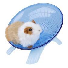 Hamster Hedgehog Pet Flying Saucer Exercise Wheel Spinner Roller Running Toy