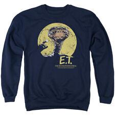 E.T. The Extra-Terrestrial Sci-Fi Film Moon Frame Adult Crewneck Sweatshirt
