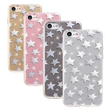^ Fashion Glitter Sterne Stars Glitzer Case Cover Tasche Schutz ver. Handy