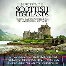 CD Musique de Scottish Highlands d'Artistes divers 2CDs