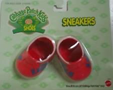 Cabbage Patch Kids Rojo Zapatillas-formadores-Cpk Zapatos De Muñeca Nuevo