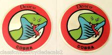 KAWASAKI DENCO COBRA DECALS X 2 H1 500 H2 750 H2A H2B H2C H1B H1D H1E H1F KH500