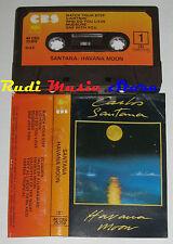 MC CARLOS SANTANA Havana moon 1983 1 STAMPA ITALY CBS 40 CBS 25350 no cd lp dvd
