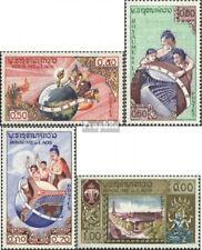 Laos 85-88 (kompl.Ausg.) postfrisch 1958 UNESCO-Gebäude in Paris EUR 2,50