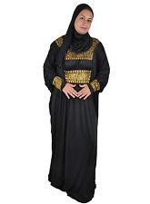 Zweiteiliger Isdal Abaya mit Kopftuch Islamische Kleidung Gebetskleidung