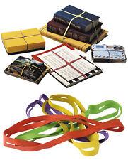 Gummiringe Gummibänder Kreuzgummi Bänder X-Band Läufer Stark Verpackung bunt