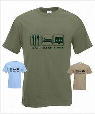 Eat Sleep Caravan Funny T-Shirt in any size
