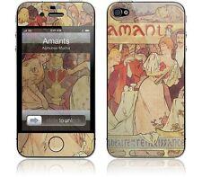 Gelaskin Gelaskins iPhone 4S Amants Alphonse Mucha