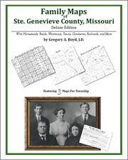 Family Maps Ste. Genevieve County Missouri Genealogy Pl