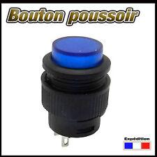 988B# bouton poussoir bleu  de 1 à 10 pcs  OFF - (ON)