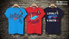 Da Uomo serie 7 EXTRA BIG puro cotone stampata T shirt, size 2XL-5XL,3 colori, opzione