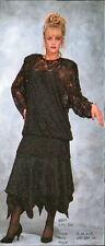 Jasdee Vintage Skirt Set Tunic Blouse Hand Work Beading&Sequins On Lace #6217