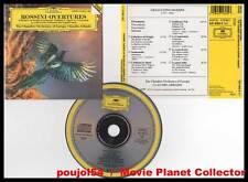 """ROSSINI """"Ouvertures : 7 opéras"""" (CD) Abbado 1991"""