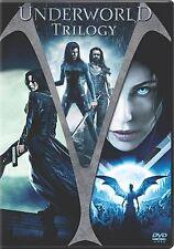 Underworld/Underworld: Evolution/Underworld: Rise Of The Lycans (DVD, 2009)  NEW