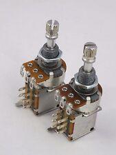 Alpha Push-Push Pots Log A O Lineal B 250k Interruptor DPDT potenciómetros Guitarra Eléctrica