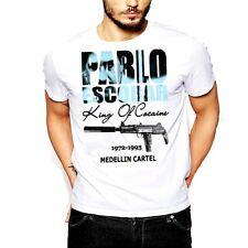 Pablo Escobar T-Shirt Medellin Cartel King Of Cocaine Plato A Plomo Colombian