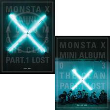 MONSTA X [THE CLAN 2.5 PART.1 LOST] 3rd Mini Album CD+Photobook+Photocard SEALED