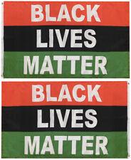New listing Black Lives Matter Rbg 100D Woven Poly Nylon Single Sided 3x5 3'x5' Flag