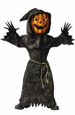 Brand New Bobble Head Pumpkin Child Halloween Costume