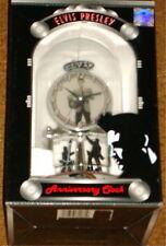 ELVIS PRESLEY ANNIVERSARY CLOCK NEW IN BOX!