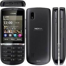 Unlocked Original Nokia Asha 300 Hebrew Keyboard Etc. Touch & Type Black Phone